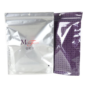 Plastic Foil Stand Up T-Shirt Packaging Bags