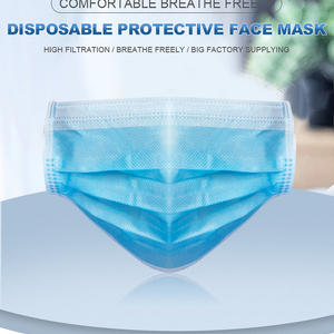 3 Layer Disposable Face Mask Anti Dust Protective Face Mask