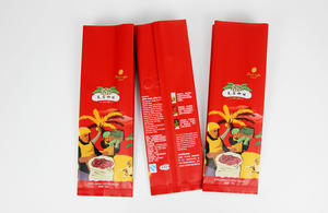 Aluminium Foil Side Gusset Coffee Bag With Degassing Valve