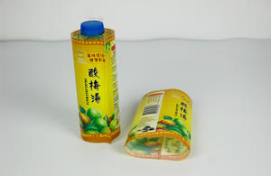 Custom Printed PET OPS PVC Shrink Sleeve Labels For Bottles