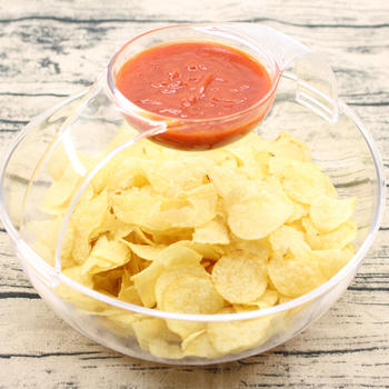 Arch Chip and Dip Bowl Snack Bowl Salad Bowl itemprop=