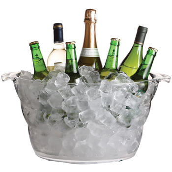 Acrylic Large Wine Cooler Ice Bucket Beer tub itemprop=