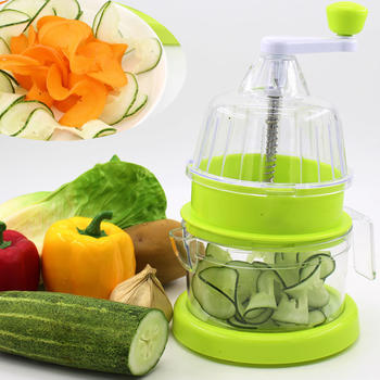 Vegetable Spiral Slicer,Vegetable Spiral Cutter,Salad Maker,Veggies Spiralizer itemprop=