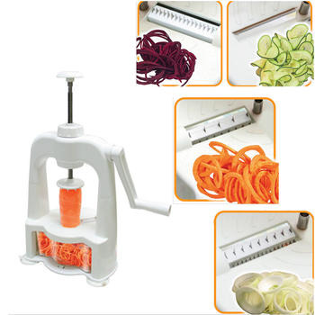 Vertical Vegetable Spiralizer Spiral Slicer  itemprop=