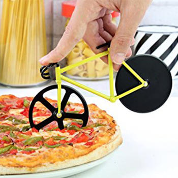 Bicycle Pizza Cutter,Bike Wheel Pizza Cutter itemprop=