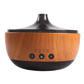Bluetooth Wood Grain Aroma Essential Oil Diffuser Humidifier,Bluetooth Music Player itemprop=