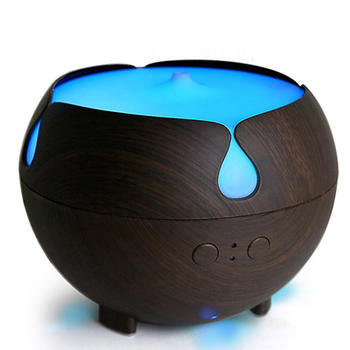 Wood Grain Aromatherapy Cool Mist Humidifier itemprop=