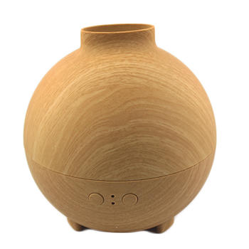 Wood Grain Essential Oil Diffuser with LED lights itemprop=