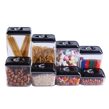 8 Piece BPA Free Airtight Food Storage Container Set itemprop=
