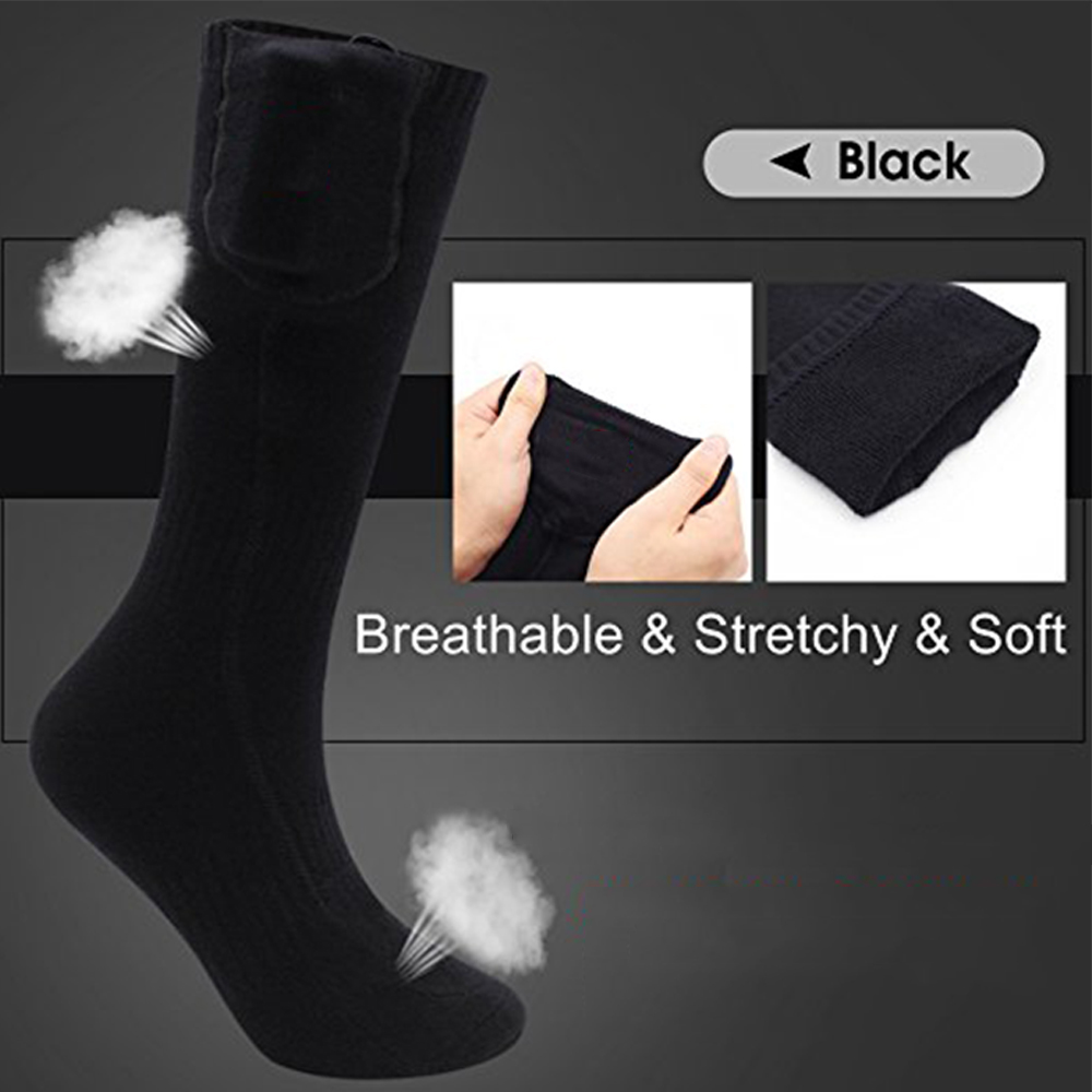 Electric Heated Socks Foot Massage Warm Socks