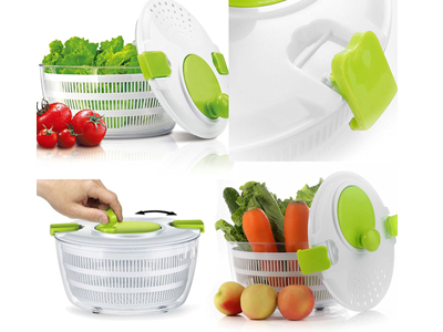 Salad Spinner With Mandoline Slicer And Chopper