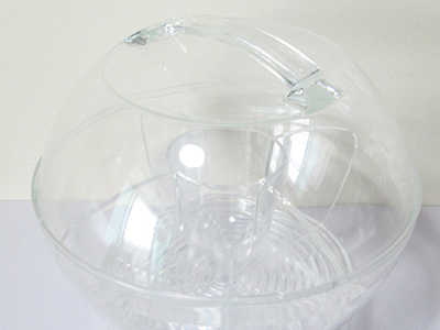 Acrylic Iced Salad Bowl