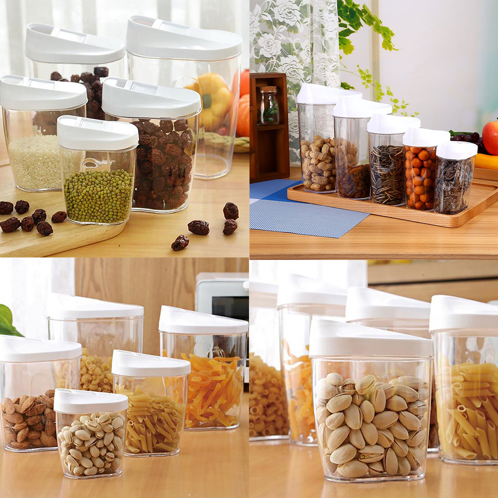 Food Storage Jars Canister Set Storage Container