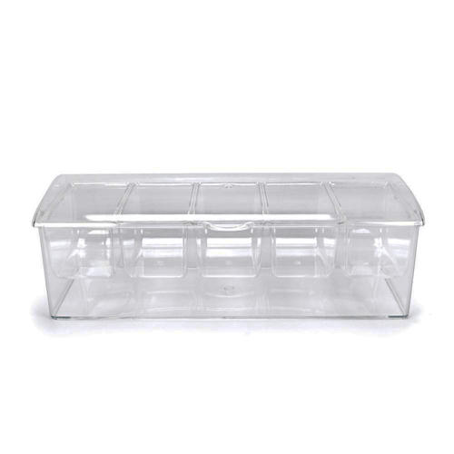5 in 1 Removable Chilled Condiment Server On Ice
