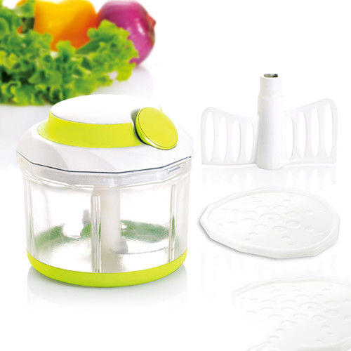 Manual Food Chopper Blender Slicer