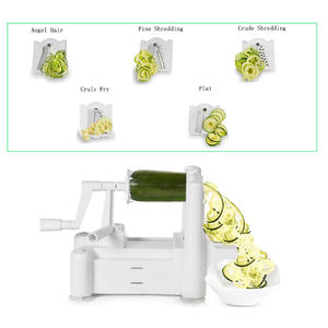 5-blades vegetable spiral slicer vegetable spiralizer veggie spiralizer