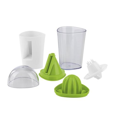 2 in 1 vegetable Spiral slicer and orange Juicer