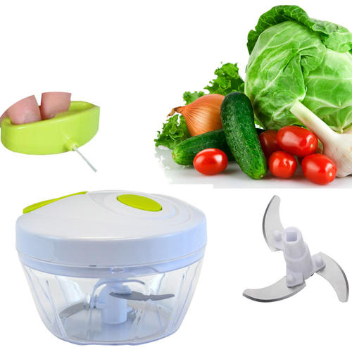 Manual Vegetable Swift Chopper Mincer Blender