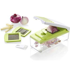Multifunctional 7 in 1 Vegetable Julienne Slicer veggie Chopper Dicer Cutter Set