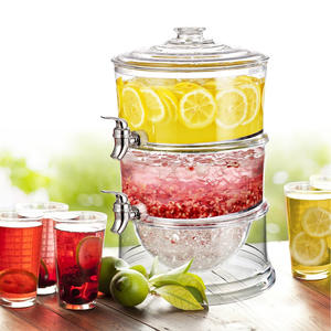 2 Tier Beverage Dispenser juice dispenser,plastic drink dispenser