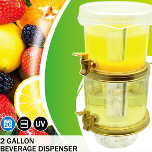 high quality 2 Gallon Beverage Dispenser fruit juice dispenser drink dispenser