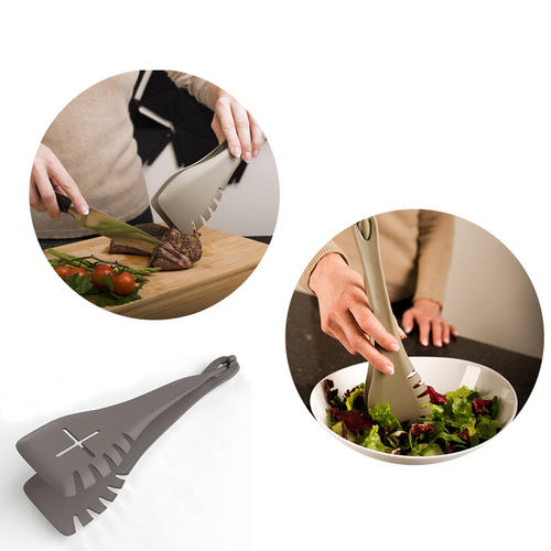 2 in 1 Food Tongs and Spatula Set