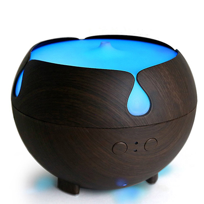 Wood Grain Aromatherapy Cool Mist Humidifier