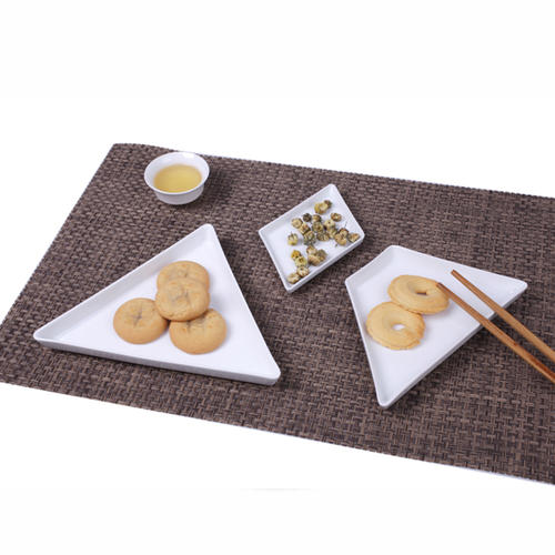 Ceramic Food Serving Tray Sushi Dish Snack Tray, Porcelain dishes plate set