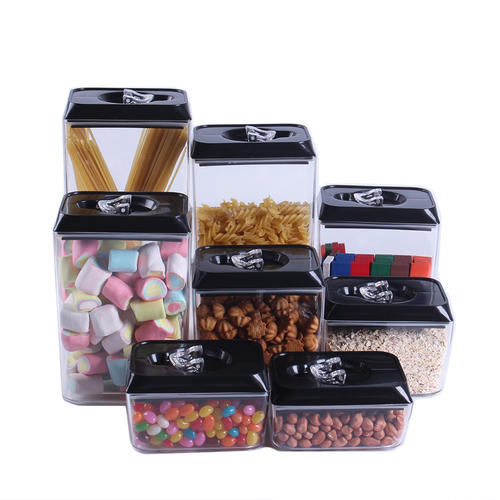 8 Piece BPA Free Airtight Food Storage Container Set